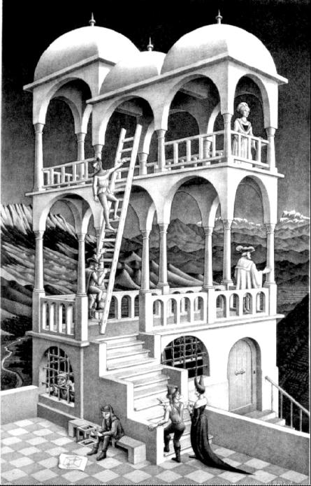 Escher-Belvedere_Fotor